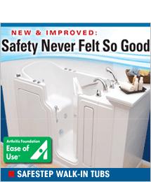 SafeStep Walk-in Tubs - $750 Off