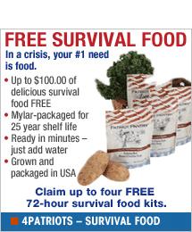 4Patriots - Survival Food