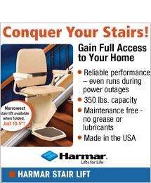 Hamar Straight Stair Lift