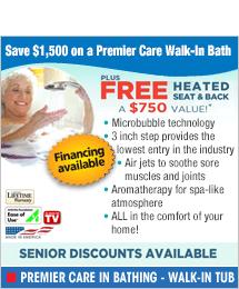 Premier Care In Bathing - Walk-in Tub