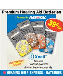 Hearing Help Express - Batteries