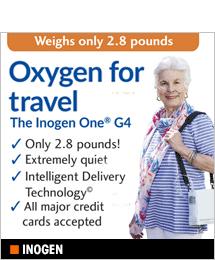 Inogen, Oxygen for Travel