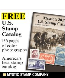 Mystic Stamp - FREE U.S. Stamp Catalog