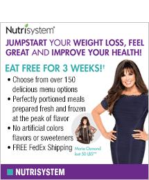 Nutrisystem - Eat Free for 3 Weeks!