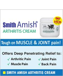 Smith Amish Arthritis Cream