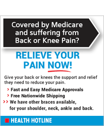 Health Hotline - back, neck, ankle braces