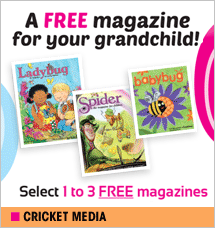 Cricket Media - Free Magazine for Your Grandchild
