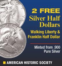 American Historic Society - Morgan Silver Dollar