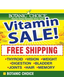 Botanic Choice Supplements