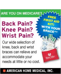 American Home Medical - Back, Knee & Wrist Pain