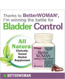 BetterWoman - Better Bladder Control