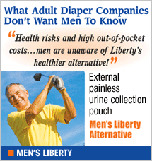 Men's Liberty - alternative to diapers