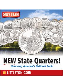 Littleton Coin - New National Park State Quarters